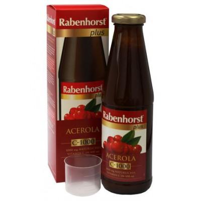 Šviežių acerolos vaisių sultys su minkštimu, be cukraus (450 ml)
