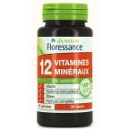 12 vitaminų ir mineralų. Maisto papildas (60 kapsulių)