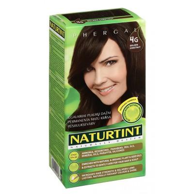 NATURTINT® ilgalaikiai plaukų dažai be amoniako, GOLDEN CHESTNUT 4G (165 ml)