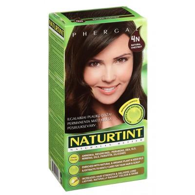 NATURTINT® ilgalaikiai plaukų dažai be amoniako, NATURAL CHESTNUT 4N (165 ml)