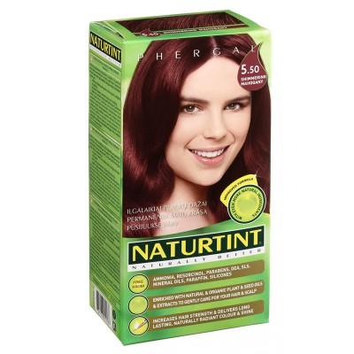 NATURTINT® ilgalaikiai plaukų dažai be amoniako, SHIMMERING MAHOGANY 5.50 (165 ml)