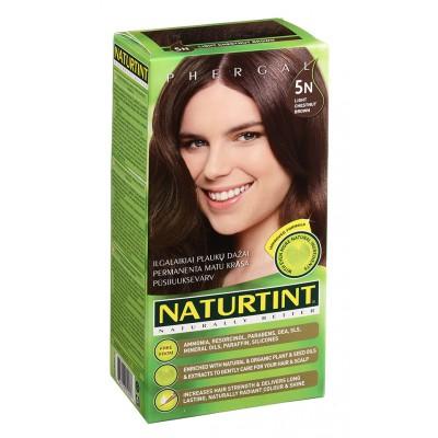 NATURTINT® ilgalaikiai plaukų dažai be amoniako, LIGHT CHESTNUT BROWN 5N (165 ml)