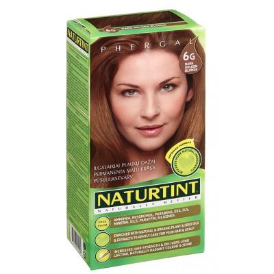 NATURTINT® ilgalaikiai plaukų dažai be amoniako, DARK GOLDEN BLONDE 6G (165 ml)