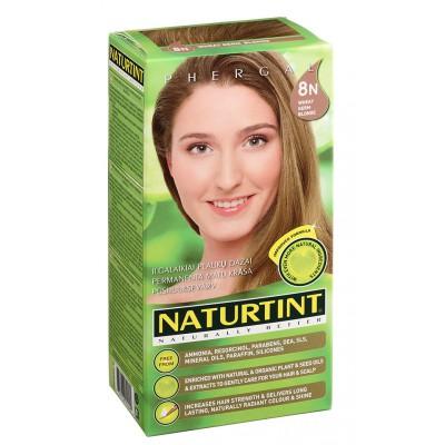 NATURTINT® ilgalaikiai plaukų dažai be amoniako, WHEAT GERM BLONDE 8N (165 ml)