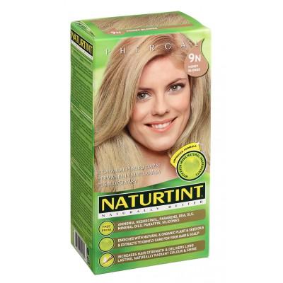 NATURTINT® ilgalaikiai plaukų dažai be amoniako, HONEY BLONDE 9N (165 ml)