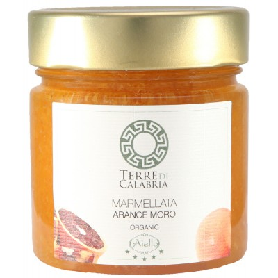 Raudonųjų apelsinų marmeladas, ekologiškas (260 g)