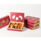 Vaisių ir riešutų asorti dėžutė, ekologiški (260 g)