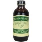 Burbono vanilės ekstraktas, ekologiškas (60 ml)