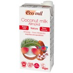 Kokosų pienas su migdolais be cukraus, ekologiškas...
