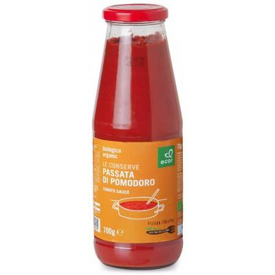 Pomidorų tyrė, ekologiška (700 g)