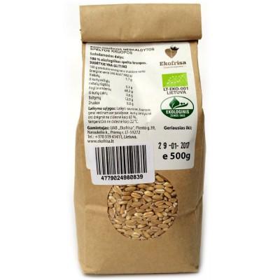 Speltų kruopos, neskaldytos, ekologiškos (500 g)