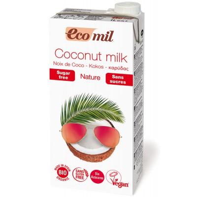Kokosų pienas be cukraus, ekologiškas (1 l)