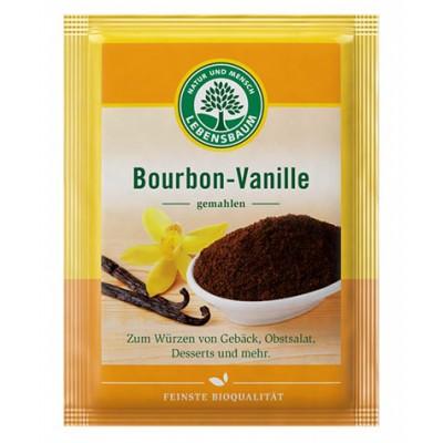Burbono vanilė, malta, ekologiška (5 g)