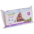 Drėgnos medvilnės servetėlės kūdikiams, ekologiškos (60 vnt.)