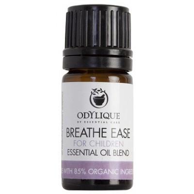 """Eterinių aliejų mišinys vaikams """"Breathe ease"""", ekologiškas (5 ml)"""
