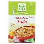 Sausi pusryčiai su vaisiais, ekologiški (375 g)