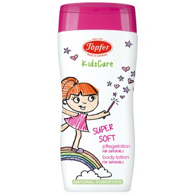 "Kūno pienelis mergaitėms ""Supersoft"" (200 ml)"