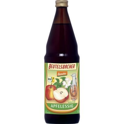 Neskaidrintas obuolių sidro actas, biodinaminis (750 ml)