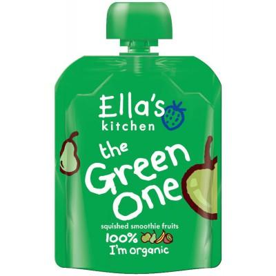 Trinti vaisiai ŽALIA kūdikiams nuo 6 mėn., ekologiški (90 g)