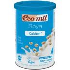 Sojų gėrimo milteliai su kalciu, ekologiški (400 g)