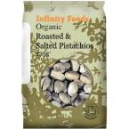 Kepintos ir sūdytos pistacijos, ekologiškos (125 g)