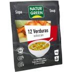 12 daržovių sriuba, ekologiška (40 g)