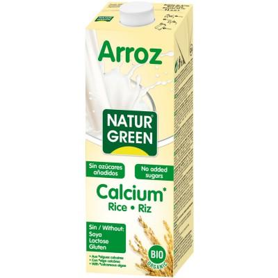 Ryžių gėrimas su kalciu, ekologiškas (1 l)