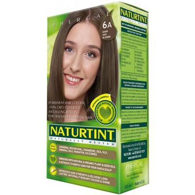 NATURTINT® ilgalaikiai plaukų dažai be amoniako, DARK ASH BLONDE 6A (165 ml)