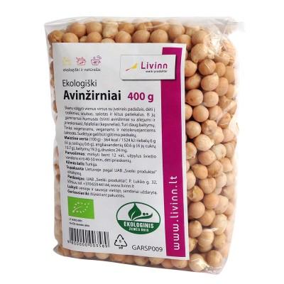 Avinžirniai, ekologiški (400 g)