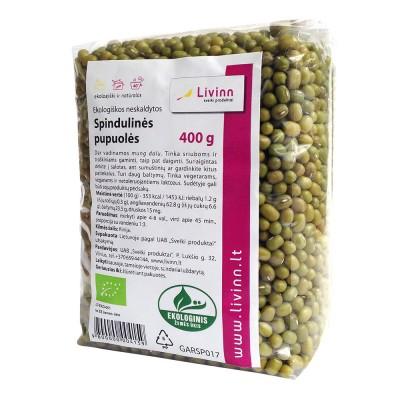 Spindulinės pupuolės (neskaldytos), ekologiškos (400 g)