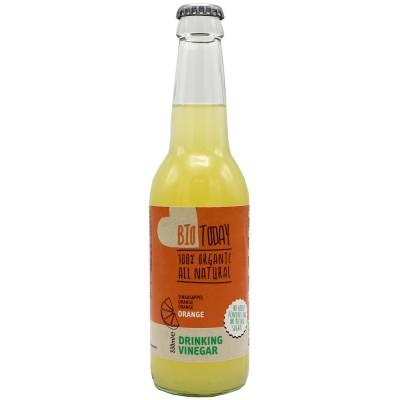 Apelsininis obuolių sidro acto gėrimas, ekologiškas (330 ml)