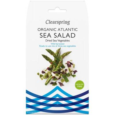 Atlanto jūros daržovių mišinys salotoms, ekologiškas (25 g)