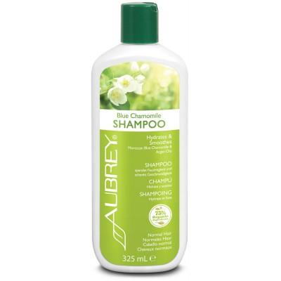 Blizgesio suteikiantis mėlynųjų ramunėlių šampūnas (325 ml)