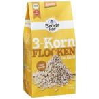 3 grūdų smulkūs dribsniai, biodinaminiai (425 g)