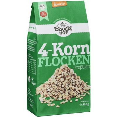 4 grūdų dribsniai, biodinaminiai (500 g)