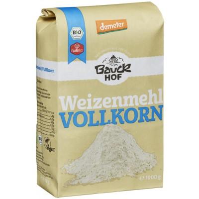Kvietiniai miltai, pilno grūdo, biodinaminiai (1 kg)