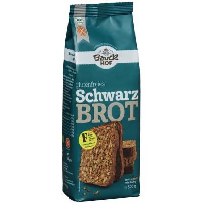 Ruošinys juodai duonai be glitimo, ekologiškas (500 g)