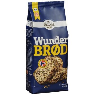 """Ruošinys """"Stebuklinga duona"""" be glitimo, ekologiškas (600 g)"""