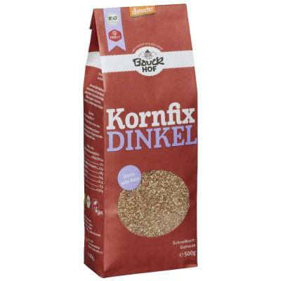 Skaldytos speltų kruopos, lengvai paruošiamos, biodinaminės (500 g)