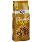 Traškūs 3 grūdų sausi pusryčiai, ekologiški (225 g)