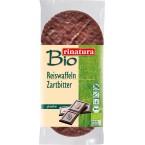 Ryžių trapučiai su juoduoju šokoladu, ekologiški (...