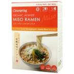 """Japoniška sriuba """"Miso Ramen"""" su imbiero sultiniu, ekologiška (2 x 85 g)"""
