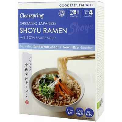 "Japoniška sriuba ""Shoyu Ramen"" su sojų padažu, ekologiška (2 x 85 g)"