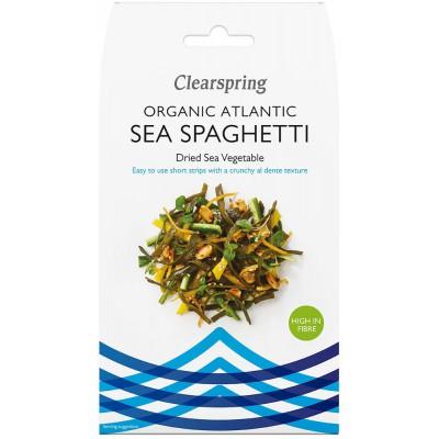 Atlanto jūros daržovės SPAGHETTI, ekologiškos (25 g)