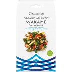 Atlanto jūros daržovės WAKAME, ekologiškos (25 g)