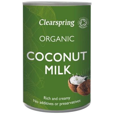 Kokosų pienas, ekologiškas (400 ml)