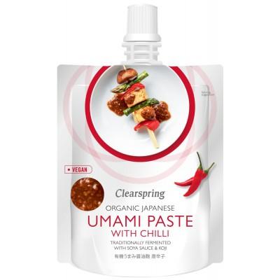 "Pasta ""Umami"" su čili pipirais, ekologiška (150 g)"