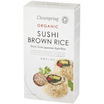 Rudieji ryžiai sušiams, ekologiški (500 g)