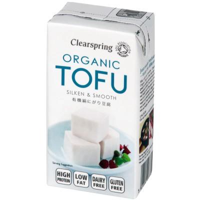 Šilkinis tofu, ekologiškas (300 g)