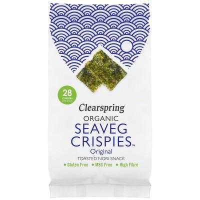 """Jūros daržovių traškučiai """"Seaveg crispies"""", ekologiški (5 g)"""